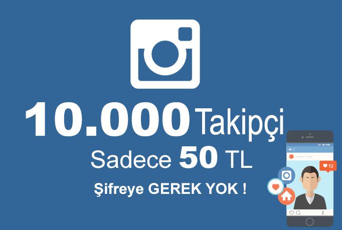 İnstagram Türk ve Gerçek Takipçi 50 TL !