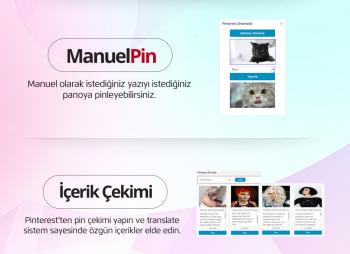Pinterest Otomatik Eklentisi - Pinterest'ten WordPress'e WordPress'ten Pinterest'e